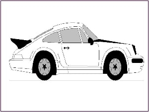 Car Outline Picture