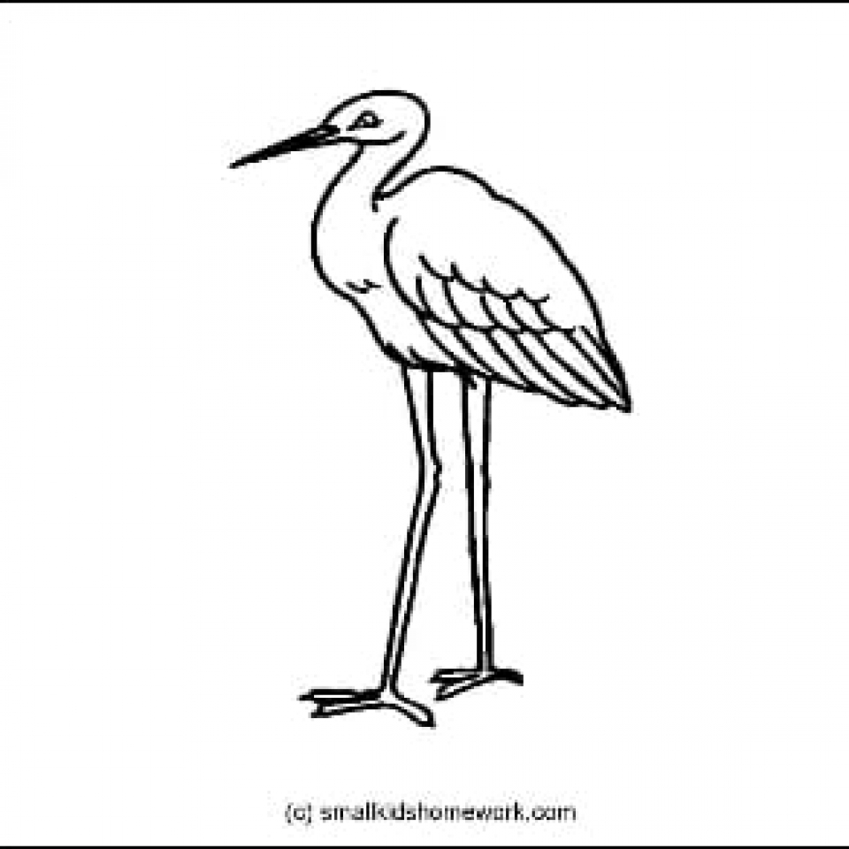 Outline Picture Crane