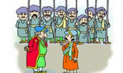 Birbal caught the thief